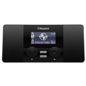 Aluratek AIRMM02F Internet Radio Internet Streaming - 11000 Channel(s) - MP3 - Ethernet - Wi-Fi