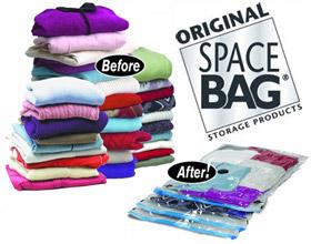 As Seen on TV Original SPACE BAG Vacuum-Seal Storage (Large)
