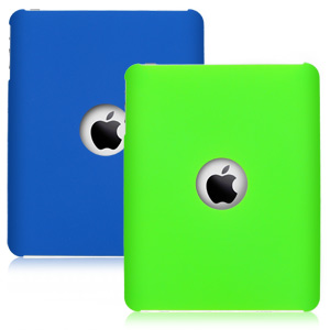 Icon Apple iPad Grip Case -  Green/Blue  (2-Pack)