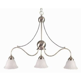 Liz Jordan Lighting 1419SB Satin Brass Palisades Multi Light Pendant from the Palisades Collection