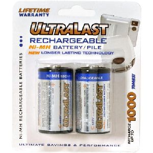 NABC UltraLast UL2C Size C Nickel-Metal Hydride General Purpose Battery - Nickel-Metal Hydride (NiMH) - 1.2V DC