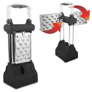 Swivels 360° Super Bright 30 LED Camping Lantern & Light