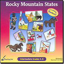 Rocky Mountain States Grade 4-6 - Created by Teachers!