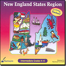 New England States Region Grades 4-6 - Created by Teachers!