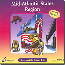 Mid-Atlantic States Region Grades 4-6 - Created by Teachers!
