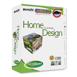Punch! Home & Landscape Design with NexGen Technology