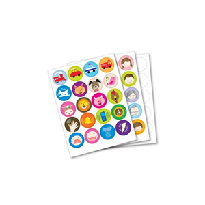 Franklin Anybook Sticker Package - Blue qty. 200 DAS-200B