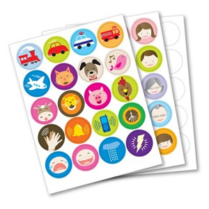 Franklin Anybook Sticker Package - Yellow Qty. 200 DAS-200Y
