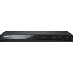 Samsung DVD-C500 DVD Player - 1080p - Black - Dolby Digital, DTS - DVD+RW, CD-RW - DVD Video, MPEG-4 - Progressive Scan - HDMI