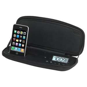 iHome iP48 Speaker System - 8 W RMS - Black - iPod Supported