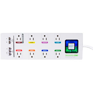 Monster Cable PowerCenter MDP 700 8-Outlets Surge Suppressor - Receptacles: 8 x AC Power - 2160J