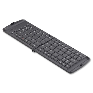Verbatim 97537 Keyboard - Wireless - Bluetooth - Handheld - Multimedia, Play/Pause, On/Off Switch Hot Key(s)