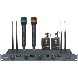 PylePro PDWM7300 Wireless Microphone System - 480 MHz to 560 MHz System Frequency