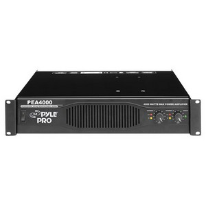 PylePro PEA4000 Amplifier - 1400 W RMS - 2 Channel - 4000 W PMPO