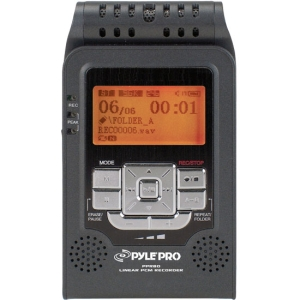 PylePro PPR80 2GB Digital Voice Recorder - 2 GB Flash Memory - LCD - Portable