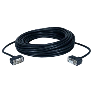 QVS CC320M1-75 Video Cable - for Monitor - 75 ft - 1 x HD-15 Male VGA - 1 x HD-15 Female VGA