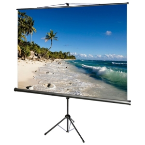 "AccuScreens 800071 Projection Screen - Manual - 70"" x 70"" - Matte White - 99"" Diagonal - 1:1 - Portable"