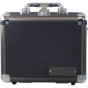 "Ape Case Small Hard Case - Internal Dimensions: 7"" Height x 3.5"" Width x 9"" Length9.5"" Length - Aluminum, Steel, ABS Plastic - Black, Gray"