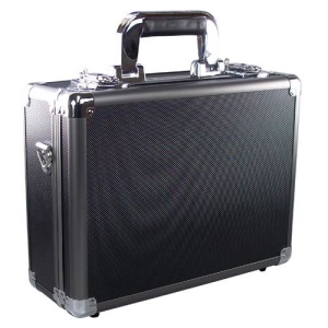 Ape Case ACHC5500 Carrying Case for Camera, Gun, Electronic Equipment - Black, Gray - Aluminum, Acrylonitrile Butadiene Styrene (ABS), Steel