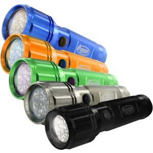 AMP Energy 08-12153 Flashlight - LED - AAA - Anodized AluminumBody - Black