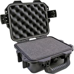 "Hardigg Storm Case iM2050 Shipping Case with Cubed Foam - Internal Dimensions: 4.25"" Height x 9.50"" Width x 7.50"" Depth - External Dimensions: 4.7"" Height x 11.8"" Width x 9.8"" Depth - Resin - Black"