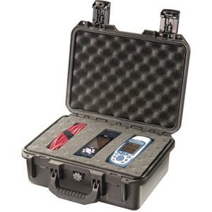 "Hardigg Storm Case iM2100 Shipping Case with Cubed Foam - Internal Dimensions: 6"" Height x 13"" Width x 9.20"" Depth - External Dimensions: 6.5"" Height x 14.2"" Width x 11.4"" Depth - Resin - Black"