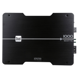 Dual XPE1700 Car Amplifier - 1 Channel - Class AB - 1% THD - MOSFET Power Supply - 240 W @ 4 Ohm