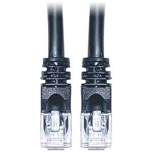 SIIG CB-C60611-S1 Cat.6 UTP Cable - Category 6 - 25 ft - 1 x RJ-45 Male Network - 1 x RJ-45 Male Network - Black