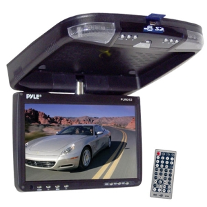Pyle PLRD92 Car DVD Player - 16:9 - FMRoof-mountable