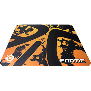 "SteelSeries QcK+ 63039 Fnatic Limited Edition Mouse Pad - 18.1"" x 3.5"" x 2.6"""