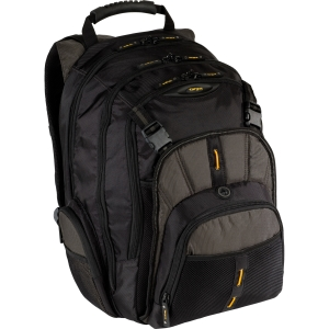 "Targus CityGear TBB018US Carrying Case (Backpack) for 16"" Notebook - Black, Gray, Yellow - Nylon"