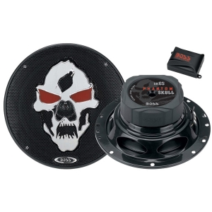 Boss PHANTOM SKULL SK65 Speaker - 3-way - 65 Hz to 22 kHz - 4 Ohm - 6.50""
