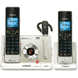 LS6475-3 Cordless Phone with Answering Machine &amp; 2 Handsets - 1 x Phone Line - 2 x Handset - Caller ID - Speakerphone - Answering Machine