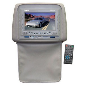 Pyle PLD72 Car DVD Player - 16:9 - Headrest-mountable