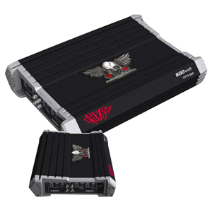 Power Acoustik CRYPT CPT2-400 Car Amplifier - 400 W PMPO - 2 Channel - Class D - 90 dB SNR - 0% THD - 10 Hz to 20 kHz - 2 x 80 W @ 4 Ohm - 2 x 100 W @ 2 Ohm