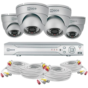 Mace MaceView MVK-SQ8CH4CAMD Video Surveillance System - 4 x Camera, Digital Video Recorder - H.264 Formats - 500 GB Hard Drive