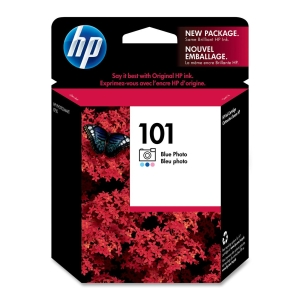 HP 101 Photo Ink Cartridge - Photo Blue - Inkjet - 340 Page - 1 Each