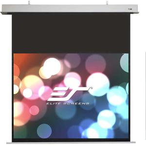 "Elite Screens ezFrame Fixed Frame Projection Screen - 49"" x 87"" - Tension White - 100"" Diagonal"