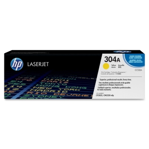 HP 304A Toner Cartridge - Yellow - Laser - 2800 Page - 1 Each