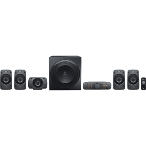 Logitech Z906 5.1 Speaker System - 500 W RMS - DTS, Dolby Digital - iPod Supported