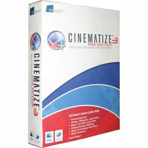 Miraizon Cinematize v.3.0 Pro Edition - Video Editing - Mac, Intel-based Mac