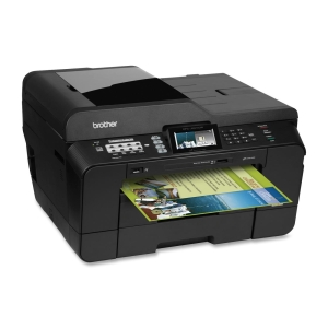 Brother MFC-J6910DW Inkjet Multifunction Printer - Color - Plain Paper Print - Desktop - Printer, Scanner, Copier, Fax - 35 ppm Mono/27 ppm Color Print - 12 ppm Mono/10 ppm Color Print (ISO) - 1200 x 6000 dpi Print - 23 cpm Mono/20 cpm Color Copy - 6 ipm