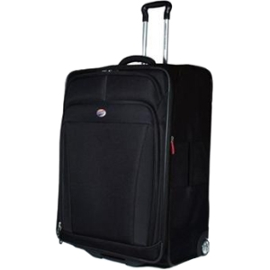 American Tourister iLite DLX 41764-1041 Travel/Luggage Case for Multi Purpose - Black - Roller - Polyester