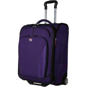 American Tourister iLite DLX 41764-1717 Travel/Luggage Case for Multi Purpose - Purple - Roller - Polyester