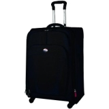 American Tourister iLite DLX 41765-1041 Travel/Luggage Case for Multi Purpose - Black - Polyester