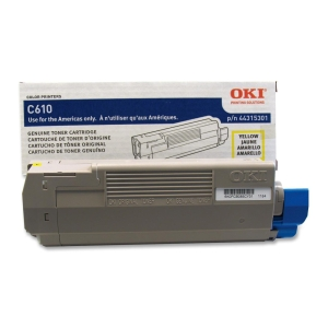 Oki Toner Cartridge - Yellow - LED - 6000 Page