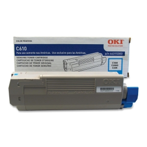 Oki Toner Cartridge - Cyan - LED - 6000 Page