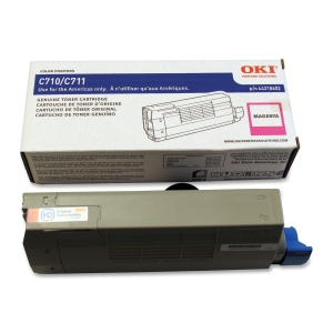 Oki Toner Cartridge - Magenta - LED - 11500 Page