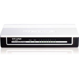 Tp-Link TL-R860 8-Port Cable/DSL Router - 9 Ports