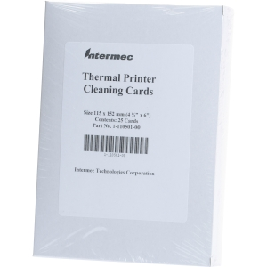 Intermec Cleaning Card - 25 / Pack
